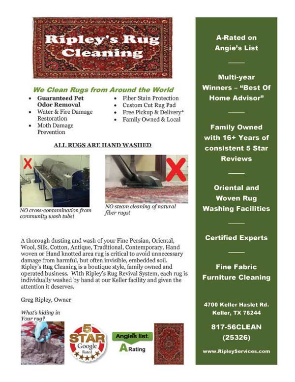 Rug Cleaning Info