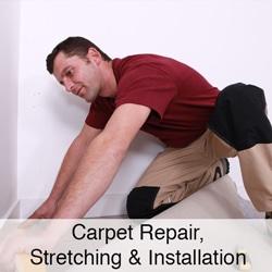 Carpet Repair Stretching & Installation